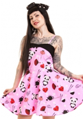 ROBE TEA PARTY ROSE