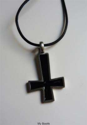 INVERSED BLACK CROSS