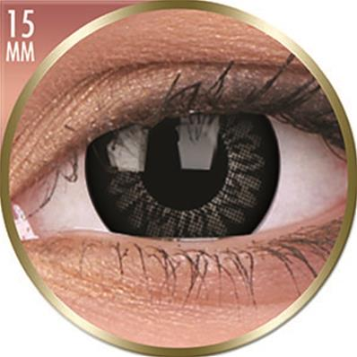 PAIRE DE LENTILLES BigEyes AWESOME BLACK 15mm (circle lens)