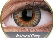 PAIRE DE LENTILLES NATURAL GRAY-gris naturel